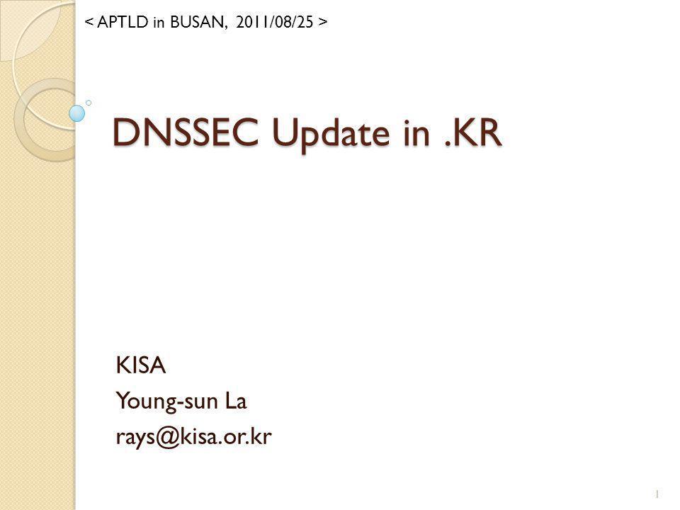 KISA Young-sun La rays@kisa.or.kr