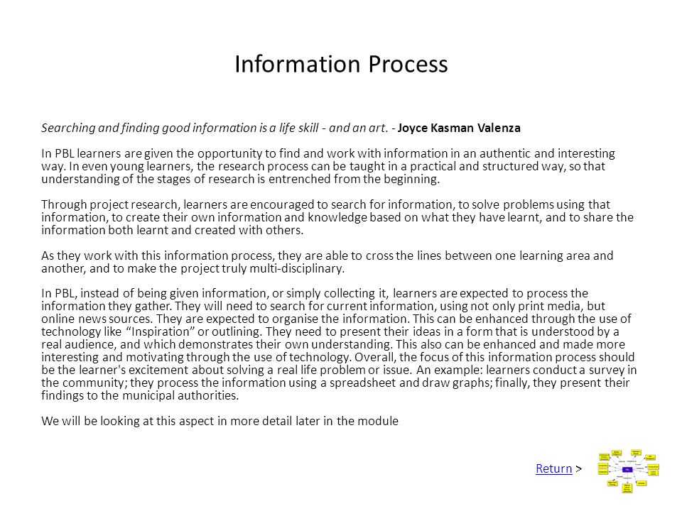 Information Process