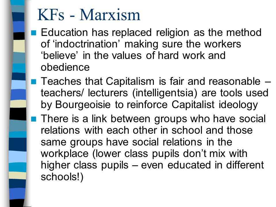 KFs - Marxism