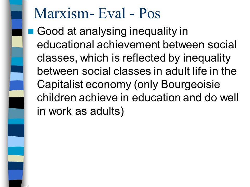 Marxism- Eval - Pos