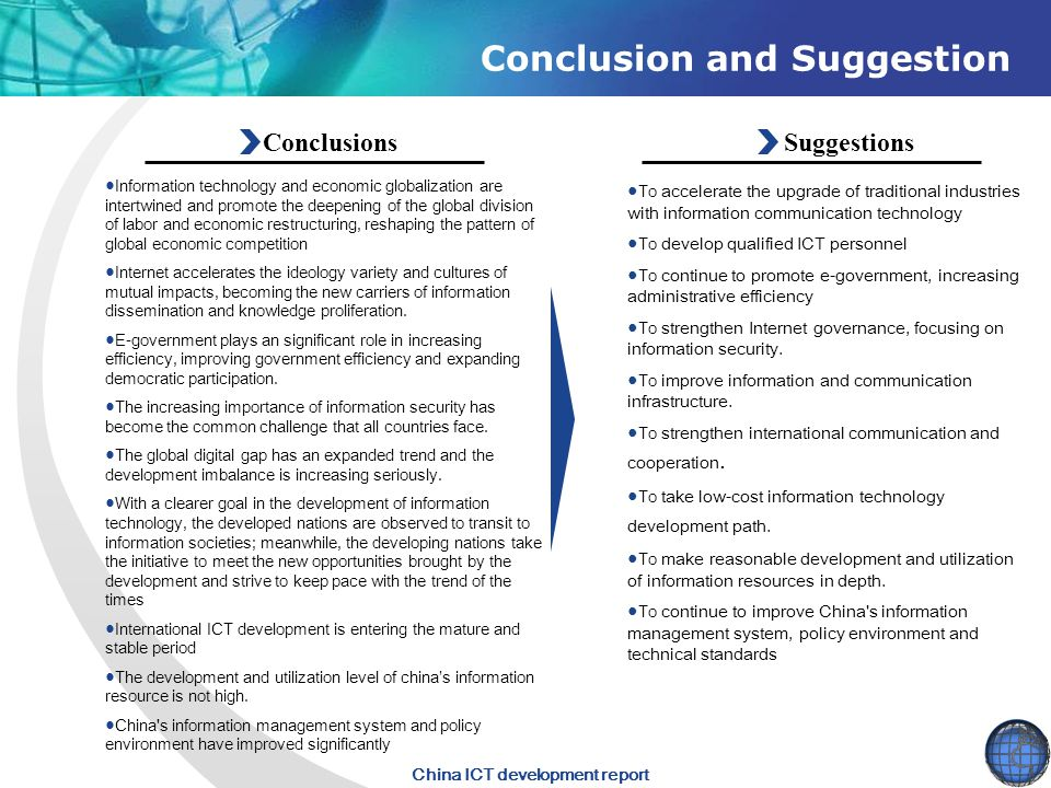 Conclusion and Suggestion