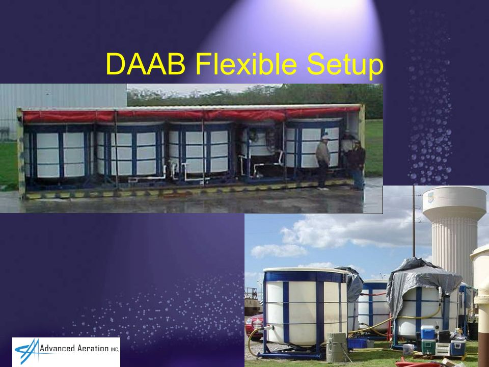 DAAB Flexible Setup