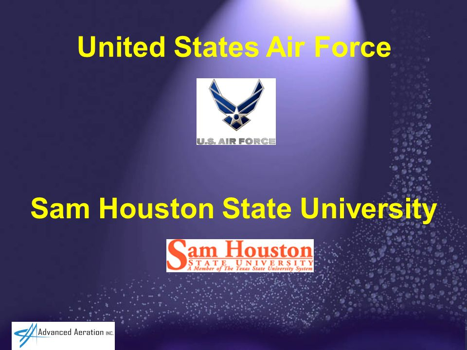 United States Air Force Sam Houston State University