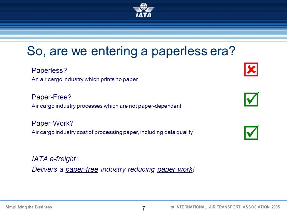    So, are we entering a paperless era Paperless Paper-Free
