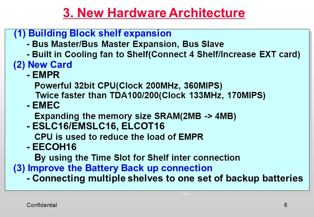 3. New Hardware Architecture