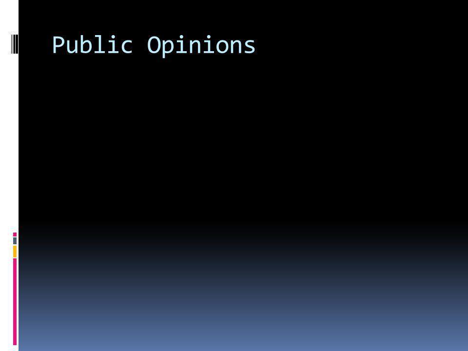 Public Opinions