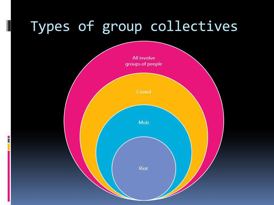 Types of group collectives