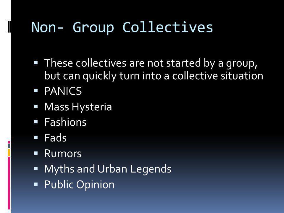 Non- Group Collectives