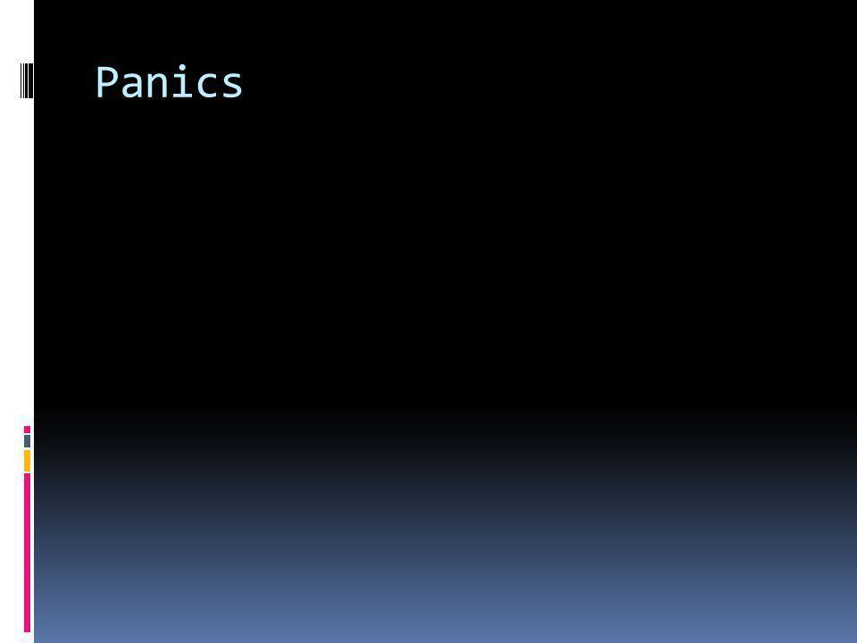 Panics