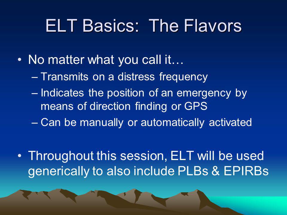 ELT Basics: The Flavors