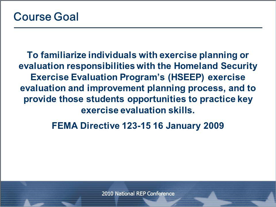 FEMA Directive 123-15 16 January 2009