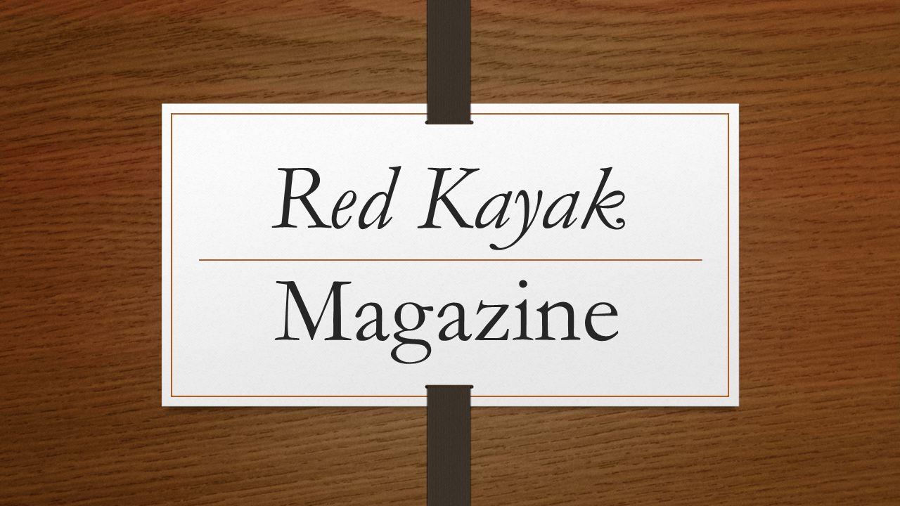 Red Kayak Magazine
