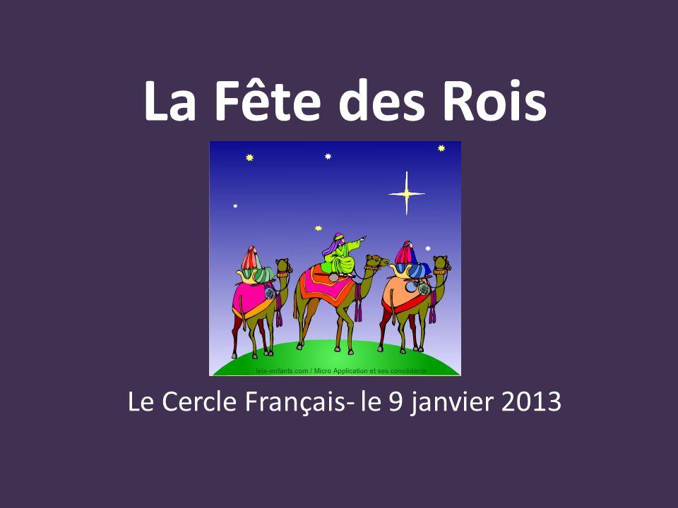 Le Cercle Français- le 9 janvier 2013