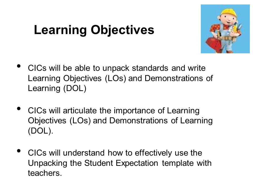 writing learning objectives Learning objectives help you nail down precisely what you want your students to learn as a result of the activity or project they are going to do it's important.