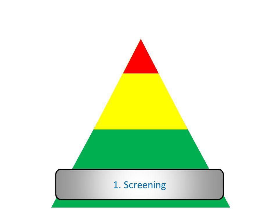 1. Screening