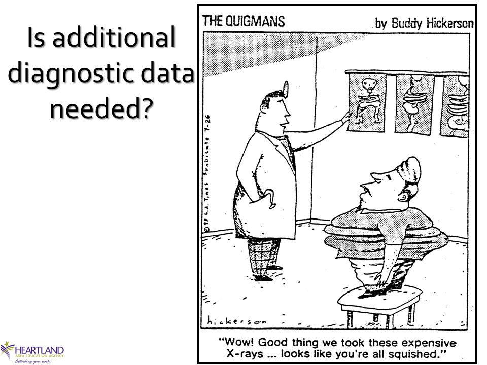 Is additional diagnostic data needed