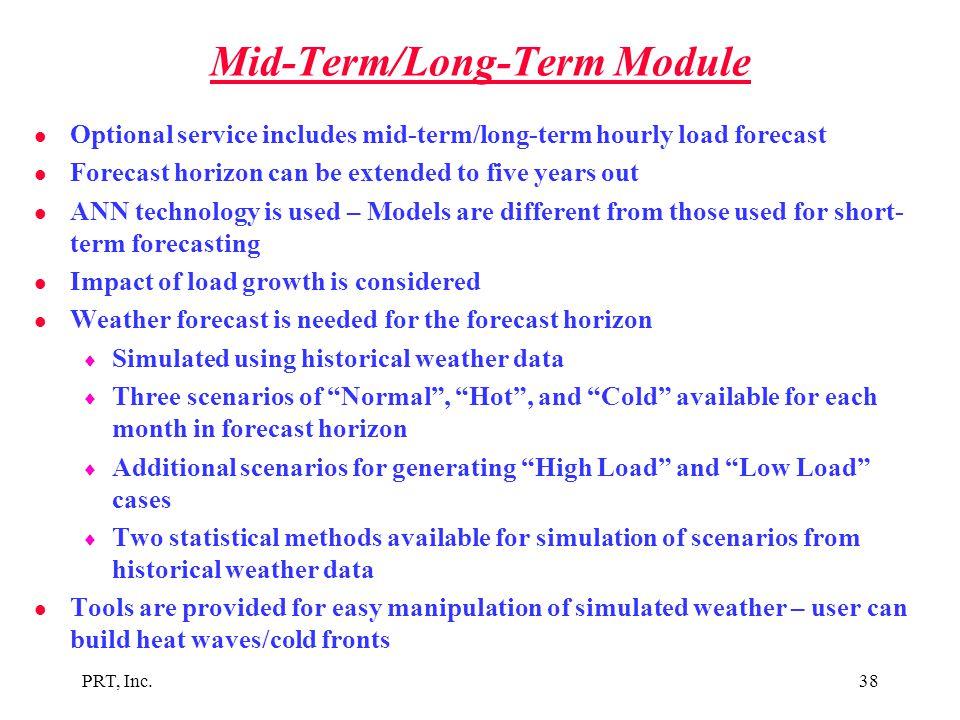 Mid-Term/Long-Term Module