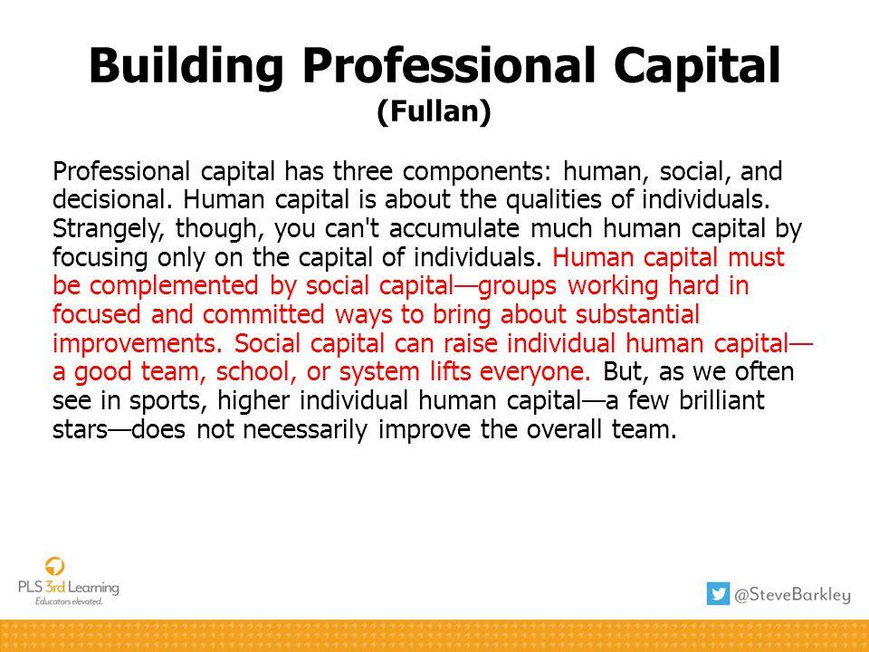 Building Professional Capital (Fullan)