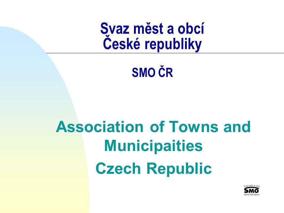 Svaz měst a obcí České republiky SMO ČR