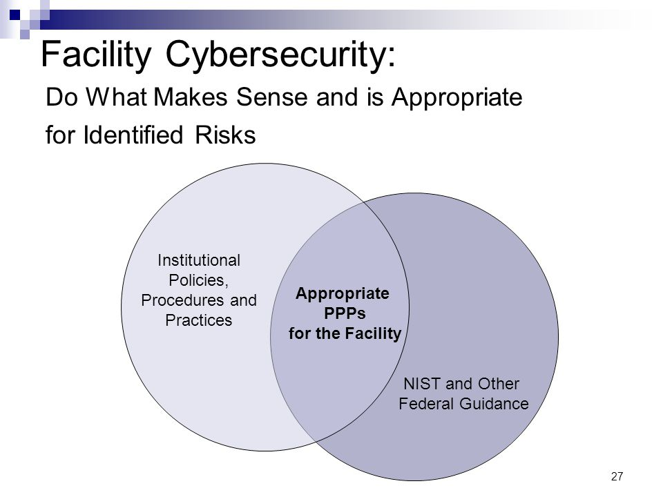 Facility Cybersecurity: