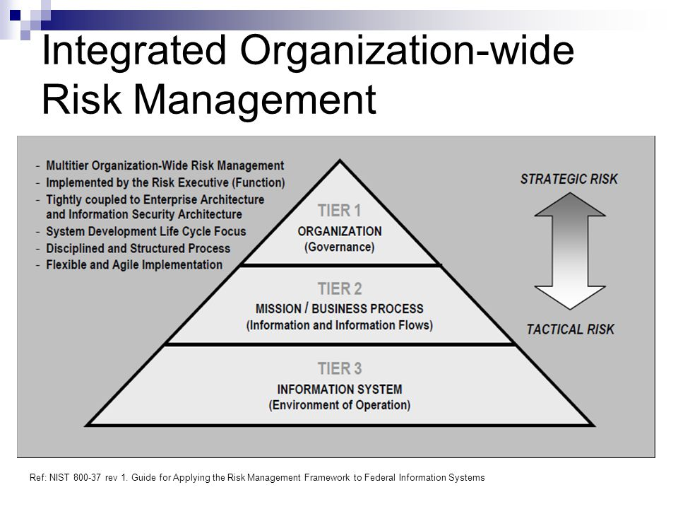 Integrated Organization-wide Risk Management