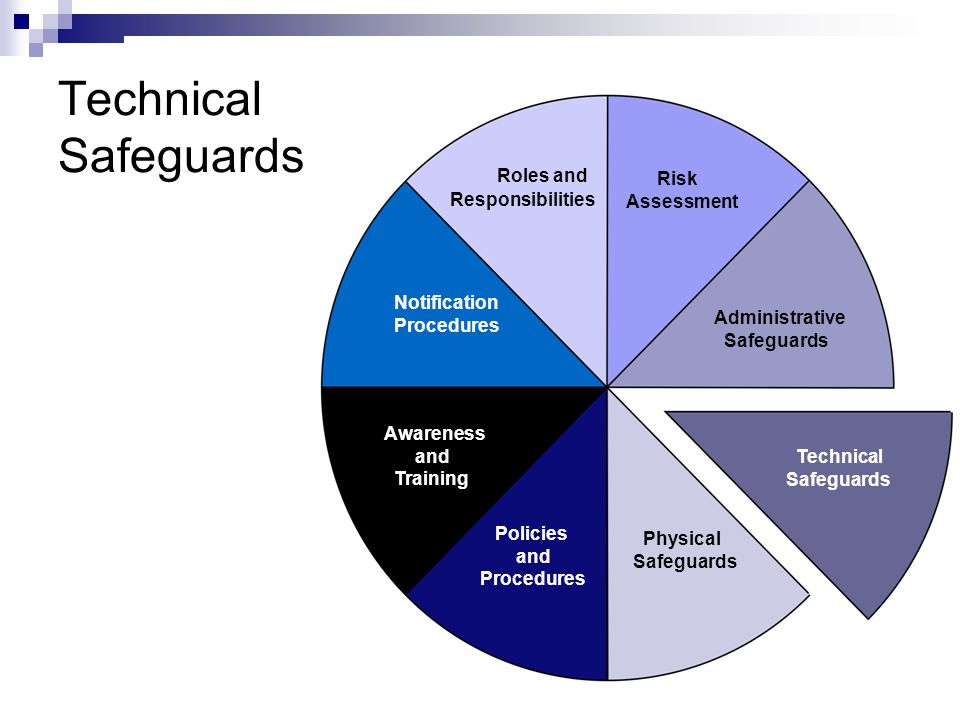 Technical Safeguards Roles and