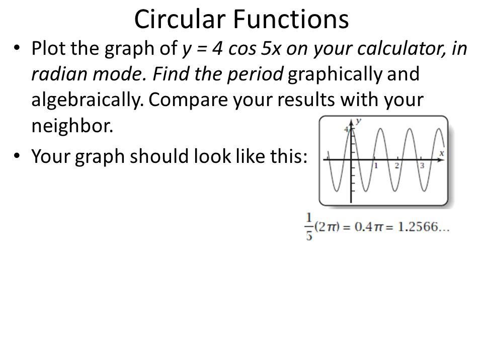 Circular Functions