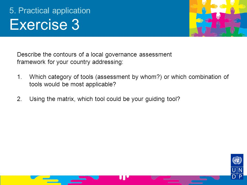 5. Practical application Exercise 3