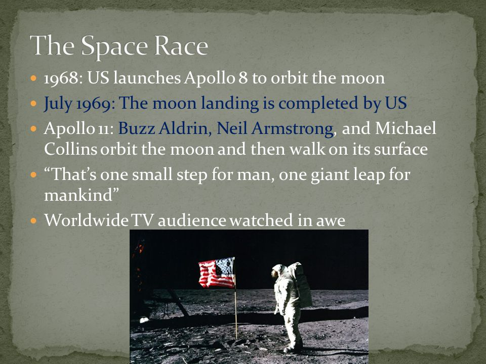 The Space Race 1968: US launches Apollo 8 to orbit the moon