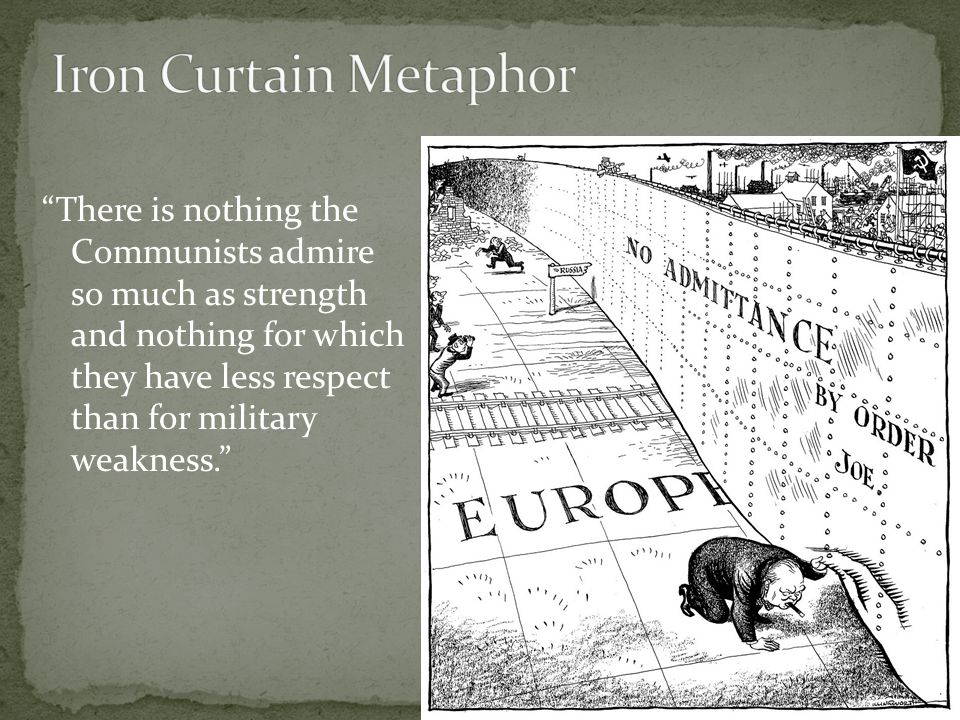 Iron Curtain Metaphor