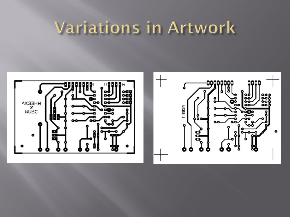 Variations in Artwork