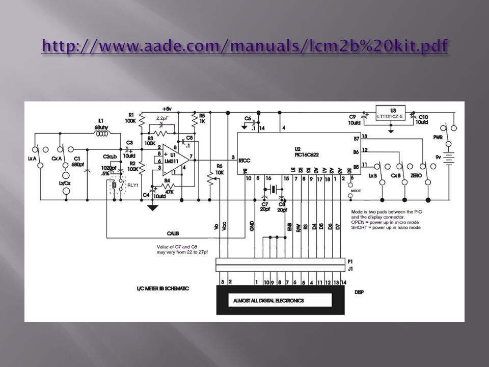 http://www.aade.com/manuals/lcm2b%20kit.pdf