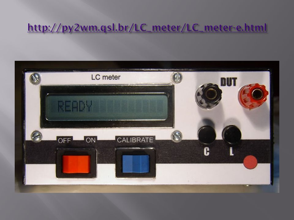 http://py2wm.qsl.br/LC_meter/LC_meter-e.html