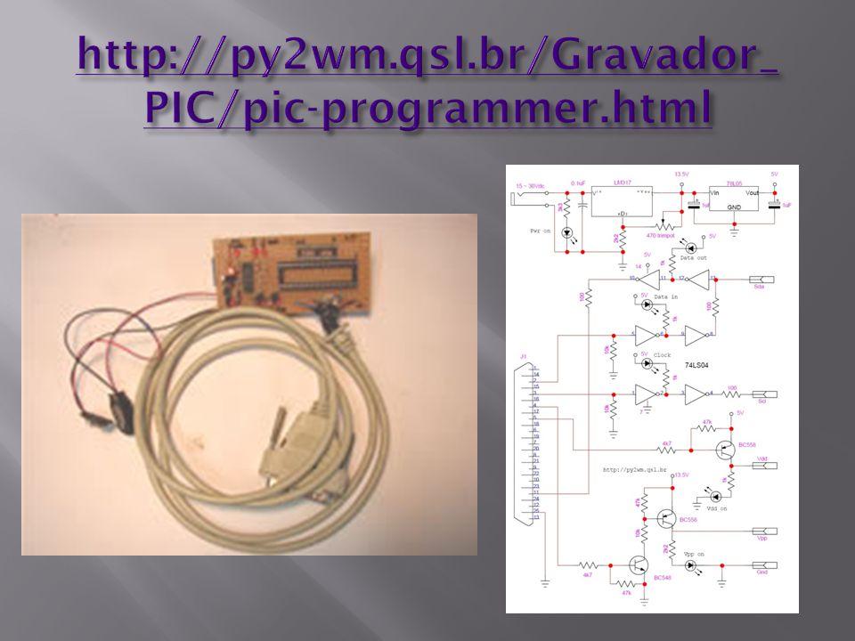http://py2wm.qsl.br/Gravador_ PIC/pic-programmer.html