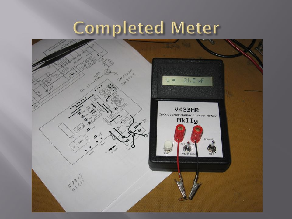 Completed Meter
