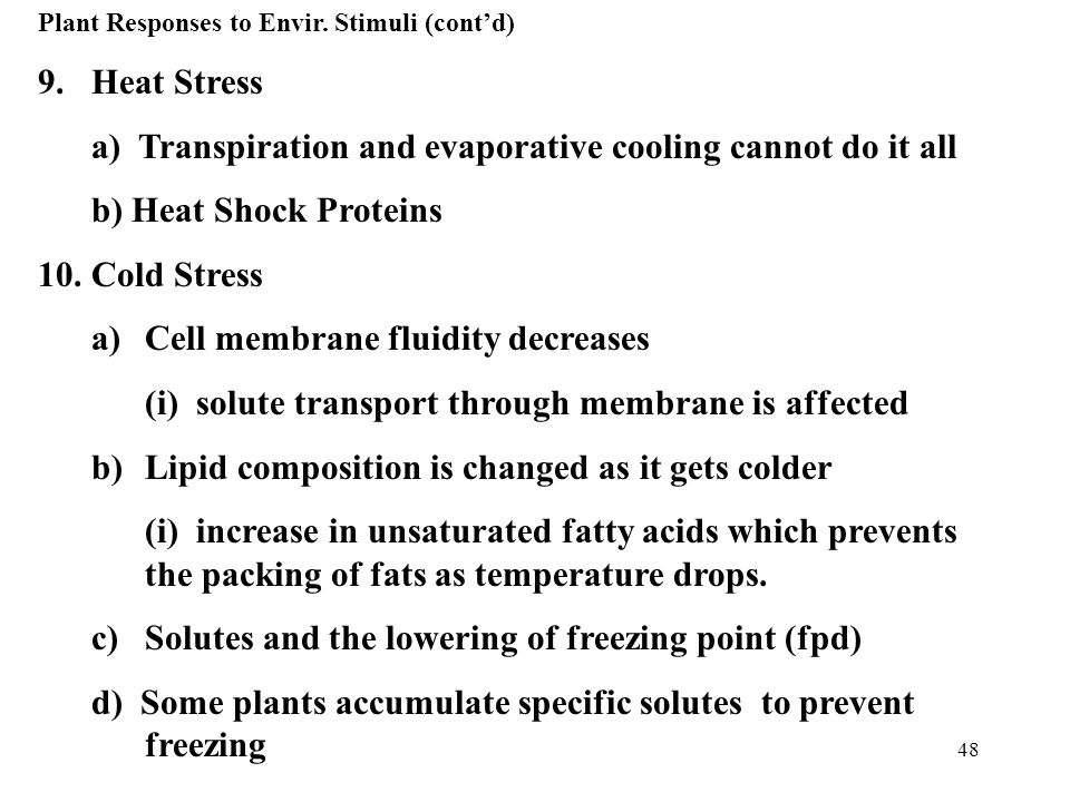 a) Transpiration and evaporative cooling cannot do it all