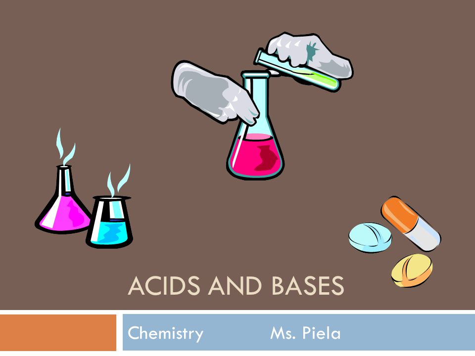 Acids And Bases Chemistry Ms. Piela