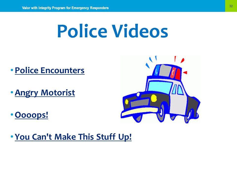 Police Videos Police Encounters Angry Motorist Oooops!