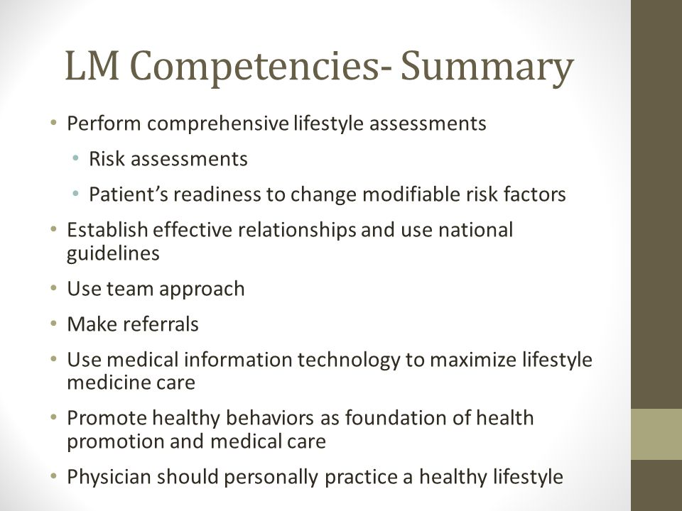 LM Competencies- Summary