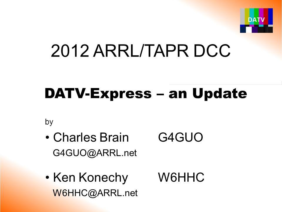 DATV-Express – an Update