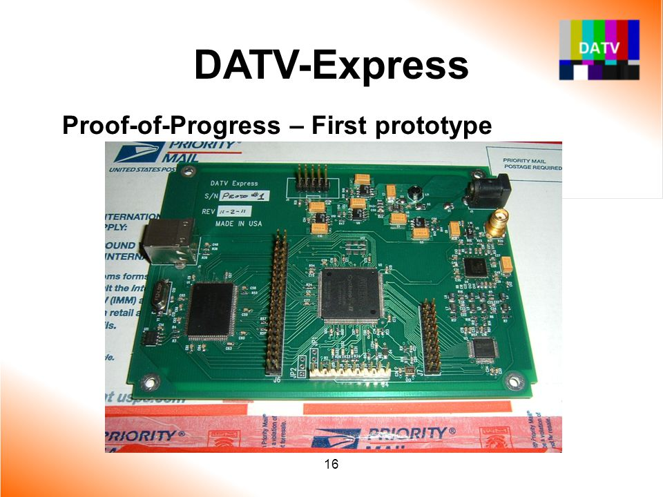 DATV-Express Proof-of-Progress – First prototype 16