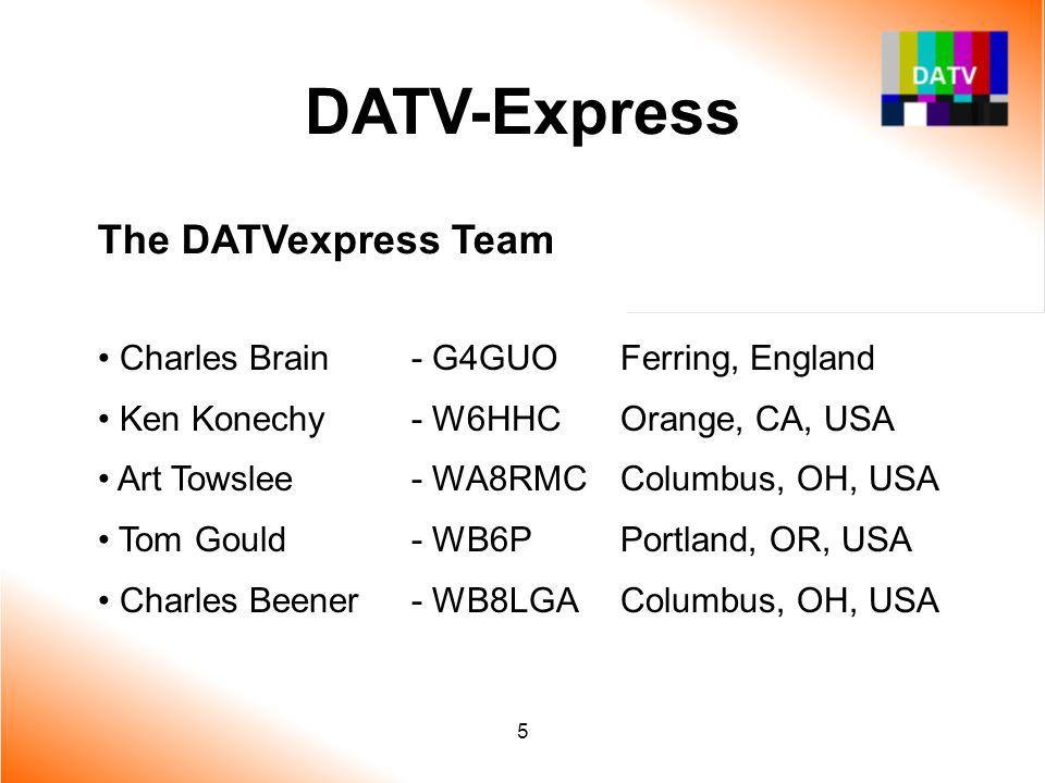 DATV-Express The DATVexpress Team