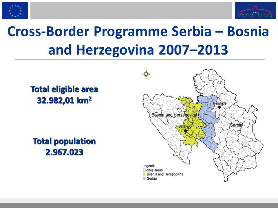 Cross-Border Programme Serbia – Bosnia and Herzegovina 2007–2013