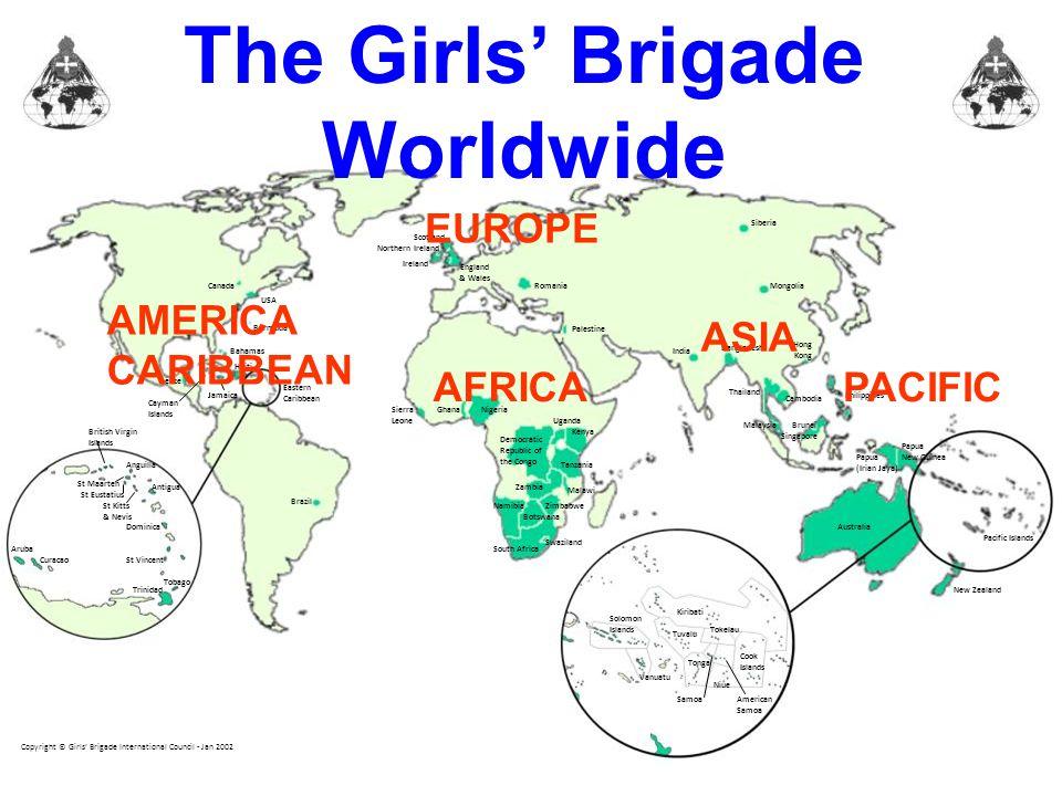 The Girls' Brigade Worldwide