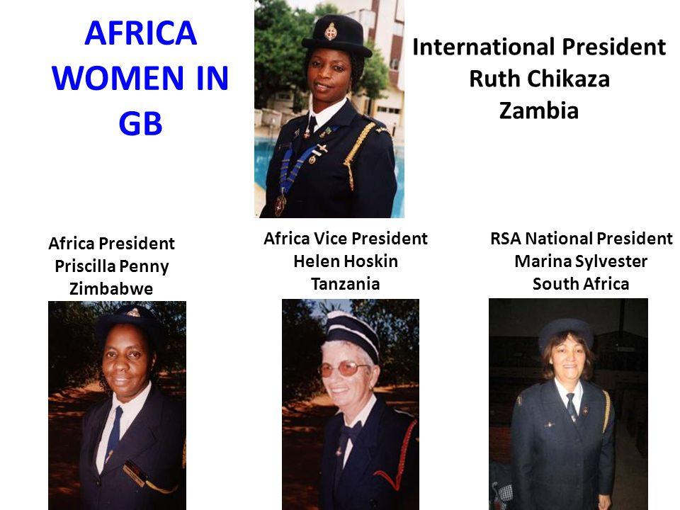 International President RSA National President