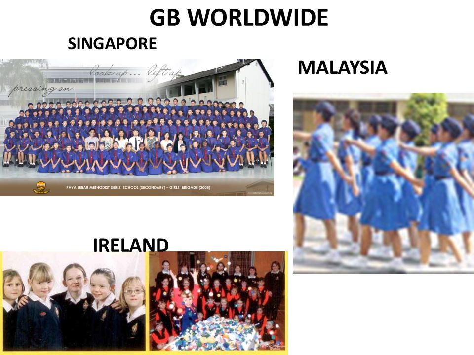 GB WORLDWIDE SINGAPORE MALAYSIA IRELAND