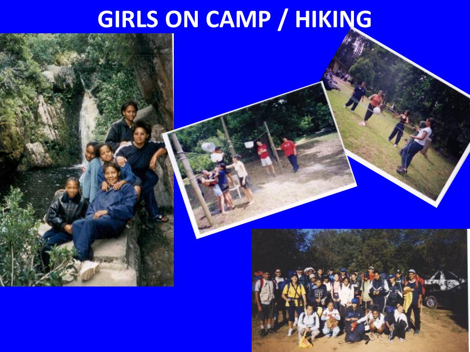 GIRLS ON CAMP / HIKING