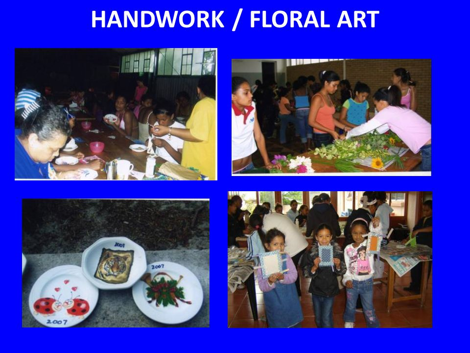 HANDWORK / FLORAL ART