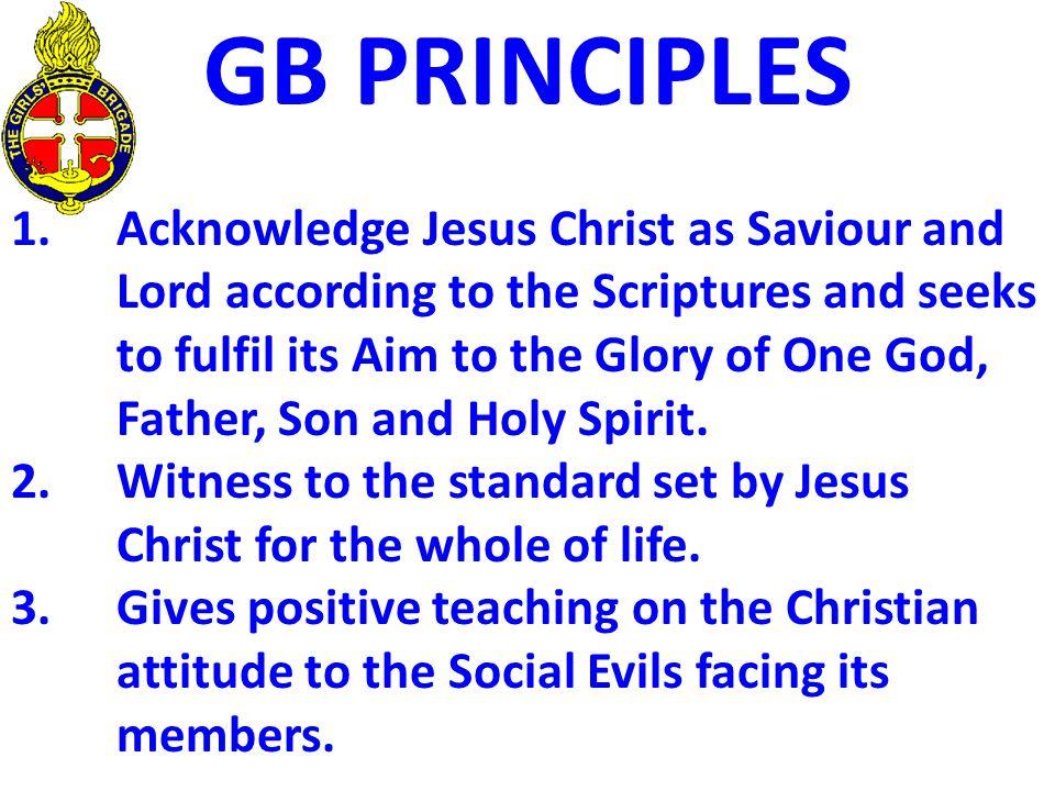 GB PRINCIPLES