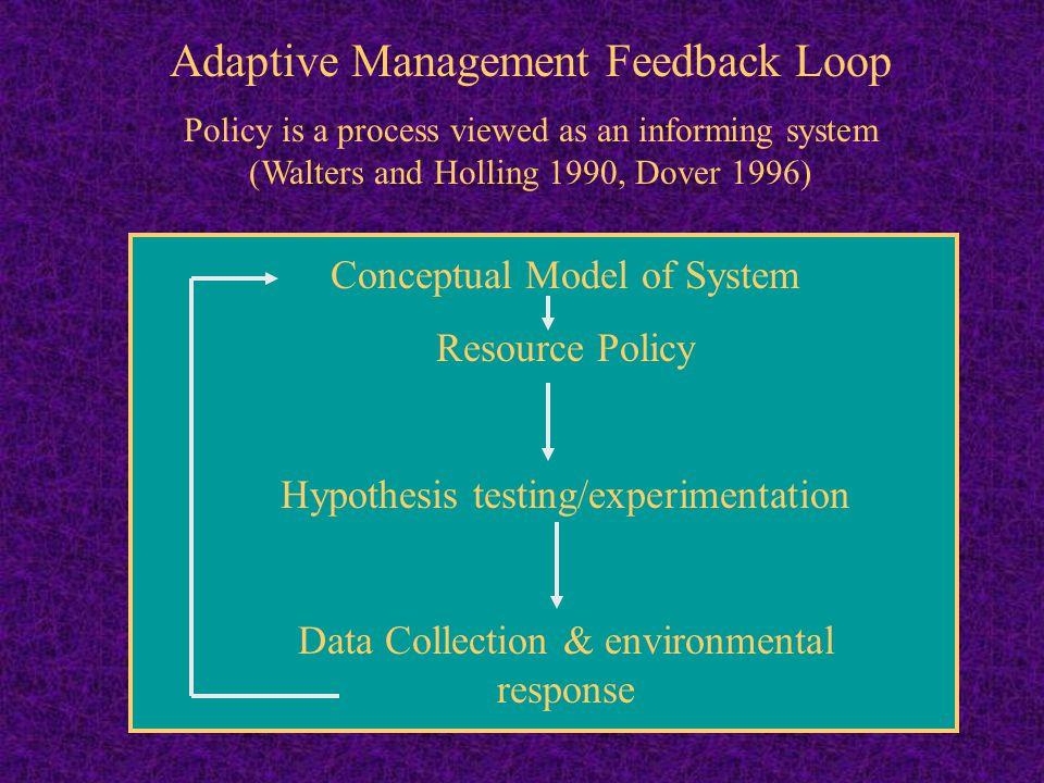 Adaptive Management Feedback Loop